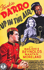 UP IN THE AIR (1940) DVD Frankie Darro & Mantan Moreland dir. Howard Bretherton