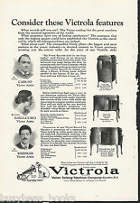 1924 VICTROLA advertisement, Victor Talking Machines, models 80, 215, 230