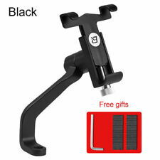 ROCKBROS Motorcycle Aluminium Alloy Phone Holder Universal Mount Bracket Black