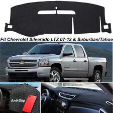 Dash Cover Mat For Chevrolet Tahoe/Suburban 07-12 Silverado LTZ 07-13 Anti-Slip