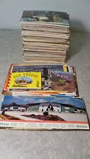 Over 500 Vintage US & Foreign 1960s - 1980s Post Cards Lot Both Unused & Used (B