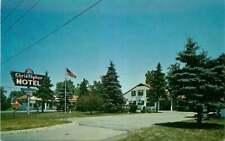 Roadside Postcard St. Christopher Motel, Bloomfield Hills, Michigan