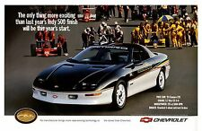 1993 Chevrolet Camaro Z28 Indy 500 Pace Car,  24 x 36 INCH POSTER,  sports car