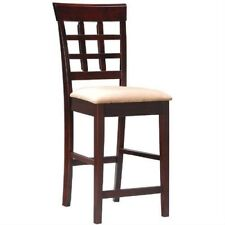 Set of 2 - Counter Height Kitchen Dining Bar Stool Chairs FREE SHIPPING