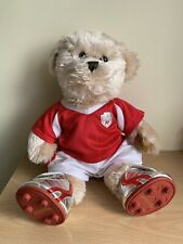 Rear collectable Build A Bear stuffed Football Boots And full outfit BABW