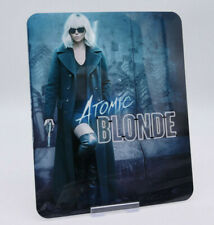 ATOMIC BLONDE - Glossy Bluray Steelbook Magnet Magnetic Cover (NOT LENTICULAR)