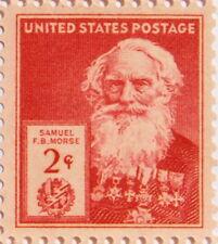 1940 Samuel F.B. Morse 2 Cents US Postage Stamp