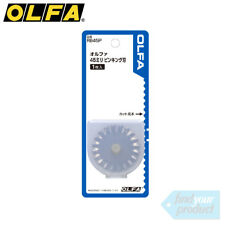 OLFA ROTARY CUTTER PINKING REPLACEMENT BLADE - RB45P (FOR 45MM ROTARY CUTTERS)