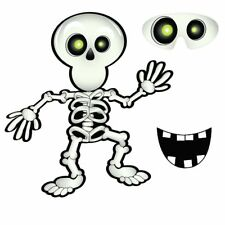 HALLOWEEN PARTY GAME PIN SMILE ON SKELETON UP TO 12 PLAYERS PIRATE PARTY