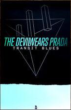 THE DEVIL WEARS PRADA Transit Blues Ltd Ed RARE Poster +FREE Rock Metal Poster!