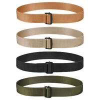 "Propper Military 1.5"" Nylon Webbing Tactical Belt with Black Oxide Metal Buckle"