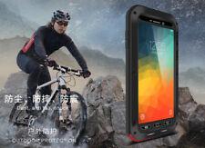 LOVE MEI Gorilla Glass Shockproof Aluminum Metal Case Cover Apple Samsung HTC LG