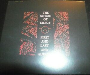 The Sisters Of Mercy – First And Last And Always Remastered Digipak CD – New