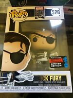 NYCC 2019 Shared Exclusive Marvel 80 years Nick Fury Funko Pop #528 *IN HAND*