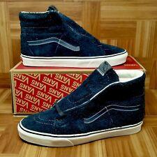415d29c552a923  VANS  Vans SK8 Hi (Men s Size 11) Hairy Suede Skate Sneakers Sky