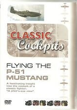 FLYING THE P-51 MUSTANG CLASSIC COCKPITS DVD P51 FIGHTER PILOT'S EYE VIEW