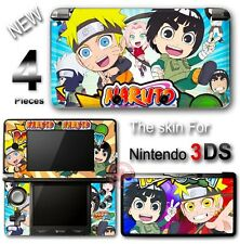 Naruto Shippuden NEW SKIN VINYL DECAL STICKER COVER for Nintendo 3DS