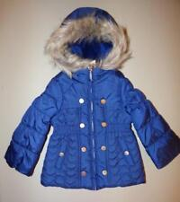JESSICA SIMPSON Little Girls 4 Faux Fur Trimmed Quilted Coat NWT $108