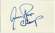 AARON PRYOR AUTOGRAPHED SIGNED 3X5 INDEX CARD SIGNATURE ORIGINAL PROOF BOXING