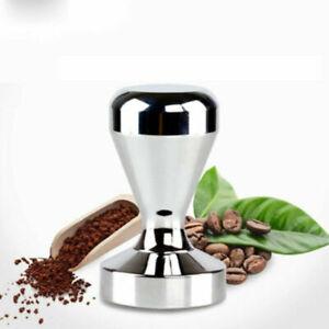 58mm Kaffee Tamper Tamperstation Kaffeestampfer Edelstahl Kaffeestopfer Hammer