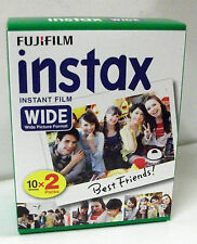 Sofortbildfilm Fuji Instax Wide, 2x10 Aufnahmen, für Instax 210 - 200 - 100.