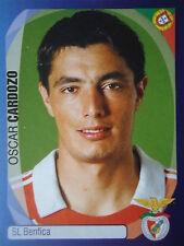 Panini 74 Oscar Cardozo SL Benfica UEFA CL 2007/08