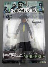 The Matrix Film Morpheus Action Figure 1999 Warner Bros Mature Collector New