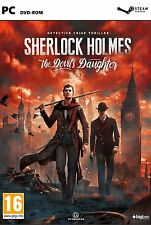 Sherlock Holmes: The Devil's Daughter (PC DVD) BRAND NEW SEALED