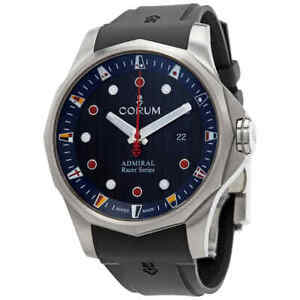 Corum Admiral's Cup Racer Automatic Black Dial Men's Watch A411/04091