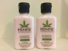 "HEMPZ PURE HERBAL EXT. BODY LOTION ""POMEGRANATE HYDRATE*RENEW"" (2 - 2.25oz) NEW"