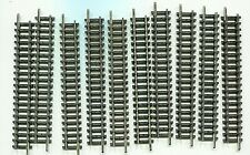 10 x MINITRIX 4904  Straight track   104.2mm      N Gauge