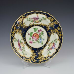 First Period Worcester Porcelain James Giles Lady Mary Wortley Montagu Plate