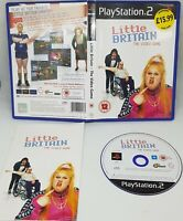 PS2 Little Britain The Video Game Sony PlayStation 2 2007 Pal VGC FAST FREE POST