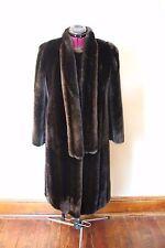 Gorgeous Hillmoor New York Ladies Vintage Long Faux Fur Coat