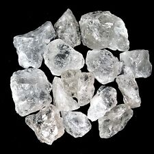 500 g Bergkristall / Brasilien Rohsteine Wassersteine Dekochips A/B - Qualität