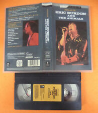 VHS ERIC BURDON AND THE ANIMALS Finally 1991 RETROSPECTIVE no cd mc dvd (VM6)