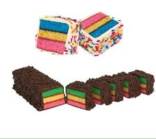 Italian  Tri-color Cookies Rainbow Bar