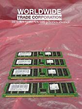 IBM 12R6967 1937 1024MB (4x 256MB) DIMMs 208-pin 266MHz DDR1 SDRAM for 9124-720