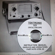 Tektronix 323 Oscilloscope Operating & Service Manual