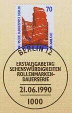 Berlin 1990: Helgoland! SWK Nr. 874 mit sauberem Ersttags-Sonderstempel! 1A 1804