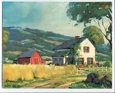 Peaceful Valley Print by Shumaker Canvas-Look Lithograph