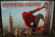 SPIDERMAN LIMITED EDITION DVD COLLECTOR'S GIFT SET, NEW & SEALED, RARE & OOP