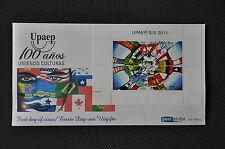 ARUBA 2011  FDC 165 A ++ UPAEP ++ BLANCO