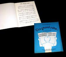 dis grand-père 6 pièces faciles pour piano partition 1973 Richard Phillips