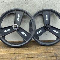 "GT Performer Fan Mag Rims 20"" OG GT Wing Tires Old School BMX Freestyle  USA"