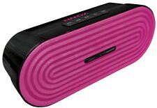 HMDX Jam Classic RAVE Portable Rechargeable Bluetooth Wireless Speaker Pink BNIB