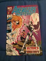 West Coast Avengers #91 1st Full War Toy Appearance Wandavision [Marvel, 1993]