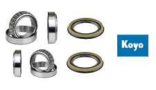 KOYO Front Wheel Bearing (2 Inner & 2 Outer) W/Seal Set For NISSAN PATHFINDER