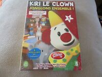 "DVD NEUF ""KIRI LE CLOWN, VOLUME 1 : JONGLONS ENSEMBLE"""