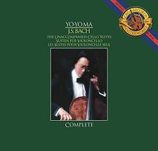 BACH / MA,YO-YO-UNACCOMPANIED CELLO SUITES (GATE) (OGV) (DLI)  VINYL LP NEW